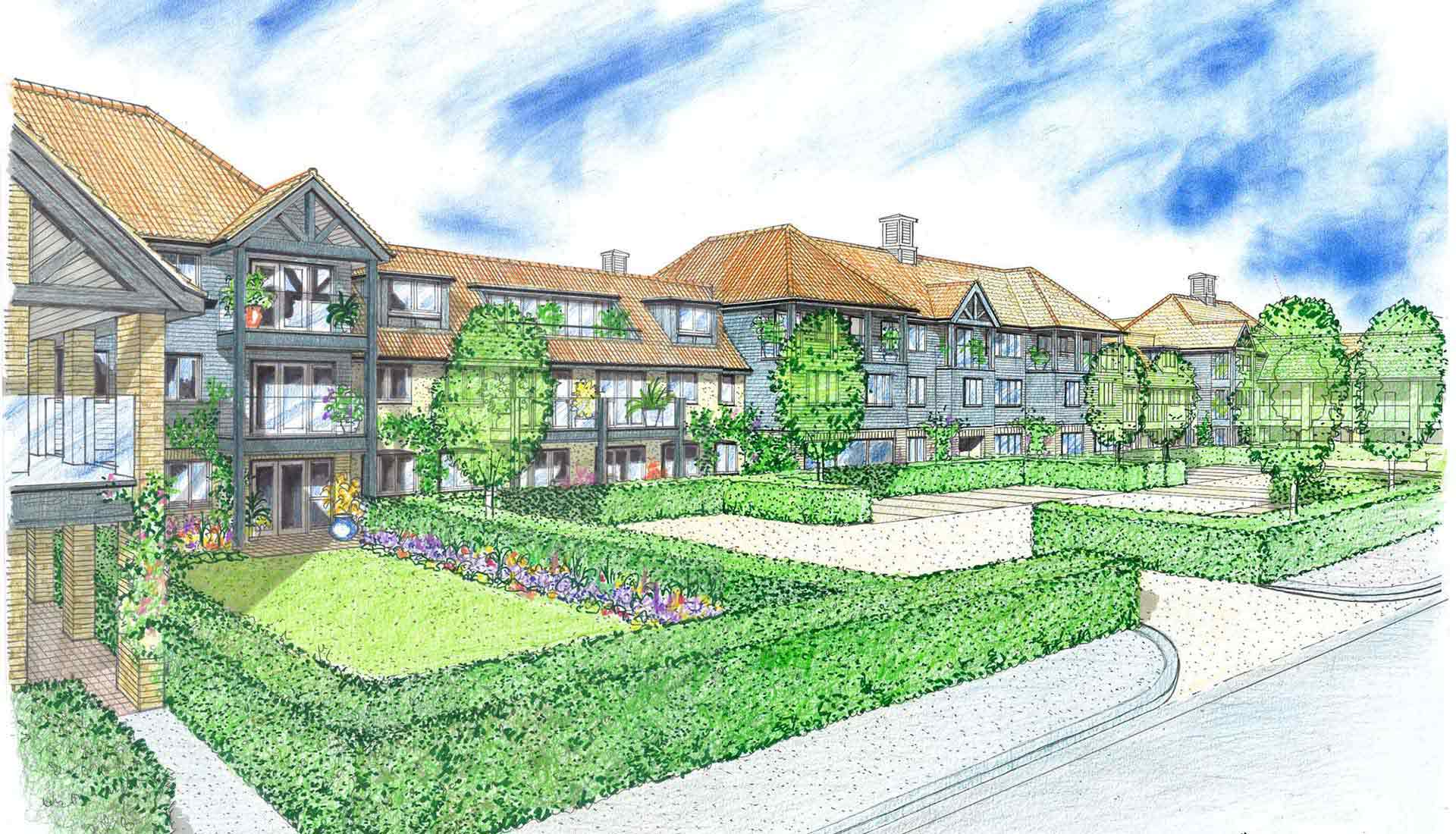 Assisted living homes in Diss